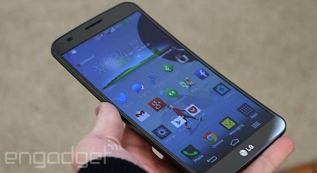 LG's curvy G Flex smartphone is coming to Canada through Rogers