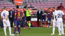 """Un directivo del Barça, al árbitro tras pitar un penalti al Madrid: """"¡Te puedes ir a cagar, Munuera!"""""""