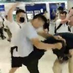 Hong Kong arrests men with gang links over mob attack