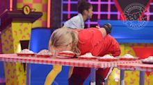 See Jamie Lynn Spears and Daughter Maddie Get Pied in the Face as They Compete on Double Dare