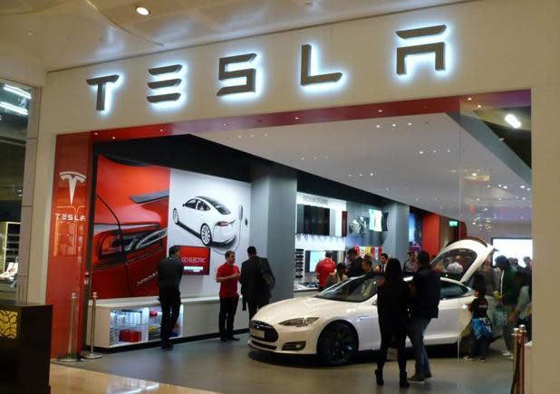 Tesla opens London showroom, outlines broader UK plans