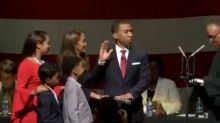 Steven Reed Sworn In As First Black Mayor Of Montgomery, Alabama