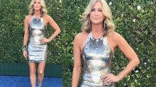 TV host, 49, called 'foolish' for showing off her legs in a short Emmys dress