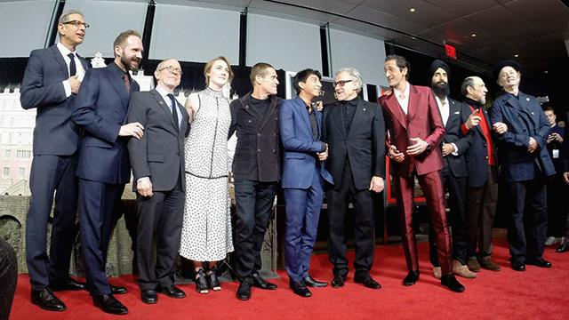 'The Grand Budapest Hotel' Premiere: Stars Praise Wes Anderson