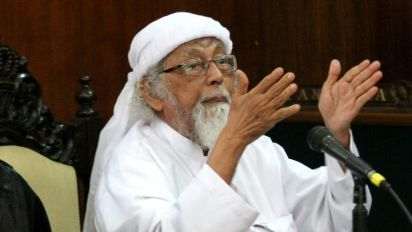 Radical cleric behind Bali bombing to be freed from prison