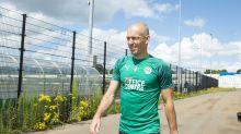 Robben steigt bei Groningen ins Training ein
