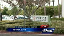 Suspects in shoplifting ring busted in Port St. Lucie