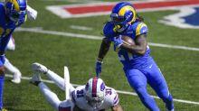 After Jordan Fuller is injured, Taylor Rapp picks up slack for Rams at safety