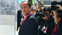 France's president smack talks the Brits over the Olympics