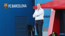 El Barça acusó el cansancio frente al Sevilla, dice Koeman