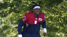 Patriots training camp: Cam Newton running away with Patriots quarterback job