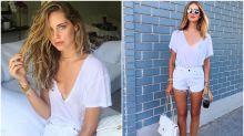 Chiara Ferragni, la bloguera que se enamoró de unos 'shorts'