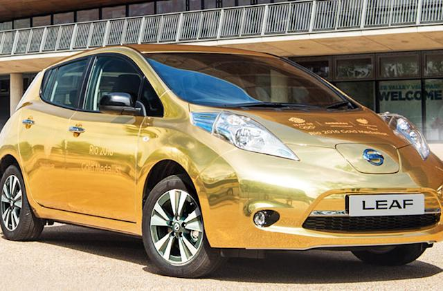 Nissan's gold Olympics-edition EV, and more in the week that was