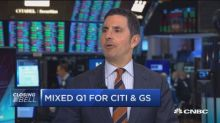 Saw letdown from Goldman today, says pro