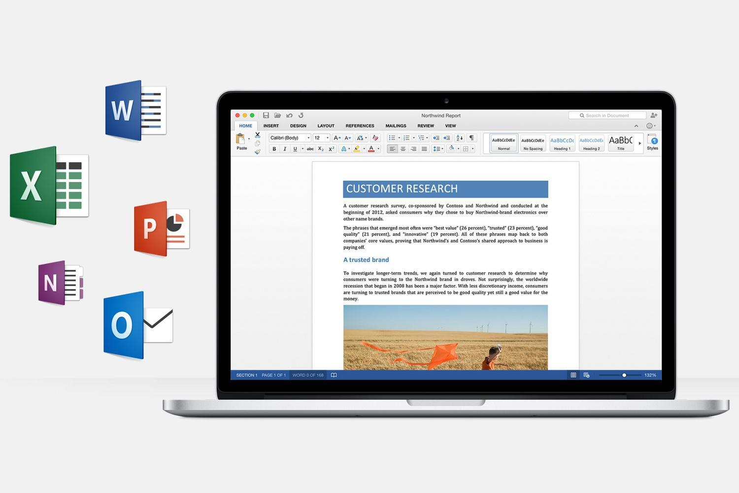 Outlook 2016 for Mac supports Google Calendar and Contacts
