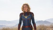 Disney accidentally points fans to sex line number in new 'Captain Marvel' pic