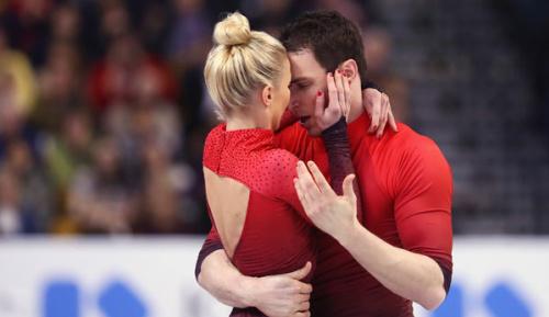 Eiskunstlauf: Savchenko/Massot mit vollem Risiko zum Paarlauf-Silber