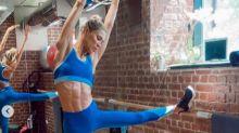 Carla Pereyra muestra su duro entrenamiento
