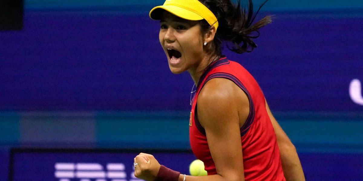 Emma Raducanu Reaches US Open Final After Dominant Win Over Maria Sakkari - Yahoo News UK