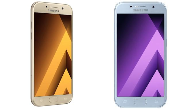 Samsung unveils water-resistant Galaxy A phones with USB-C