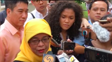 PE2017 - I want to be a unifying force, election or no election: Halimah Yacob