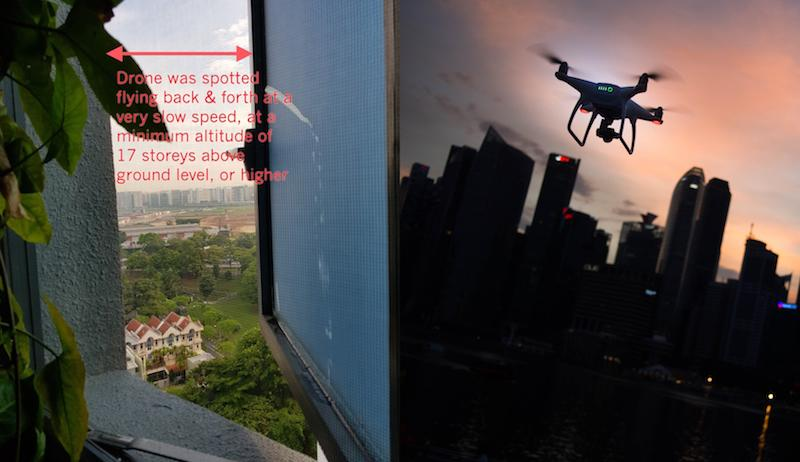 Drone spotted flying past 17th floor bathroom window multiple times; police investigating