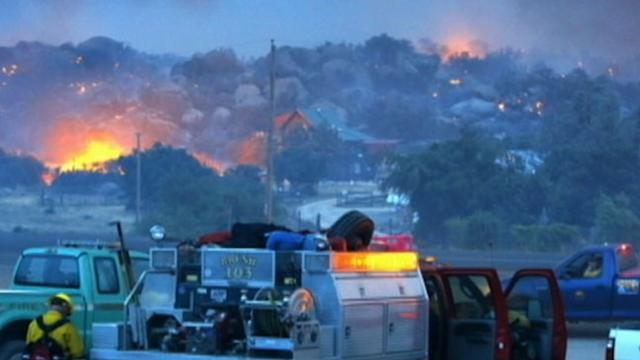 Firefighters Battle Blaze That Killed 19 of Their Own