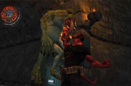 New monster-fied screens, videos from Hellboy: Science of Evil