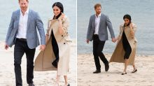 The real reason why Meghan Markle kept her shoes on during beach visit