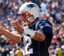 American football - Brady magic rescues Patriots on day of protest