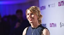 Chelsea Manning wears a hashtag necklace with a hidden meaning