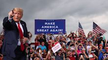 Trump Brags About Rally Crowds, Mockingly Calls Supporters 'Peaceful Protesters'