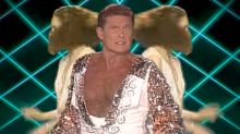 David Hasselhoff Leads 'Guardians' Inferno' Music Video's All-Star Marvel Disco Boogie