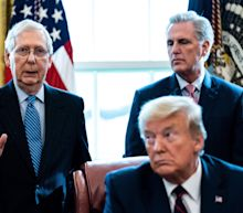 Senate Republicans gave a brand new award to Trump the same weekend he called Mitch McConnell a 'dumb son of a b----h'