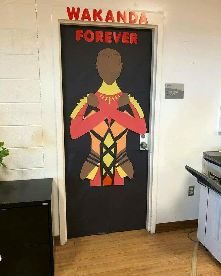 Teachers Honor Black History Month With Stunningly Decorated
