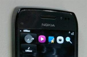 Nokia E6 spied again, shows off its touchy Symbian UI