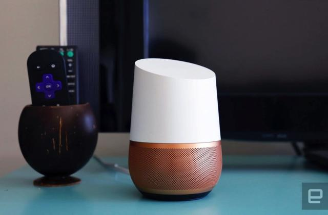Google lists all the devices Home supports for easy reference