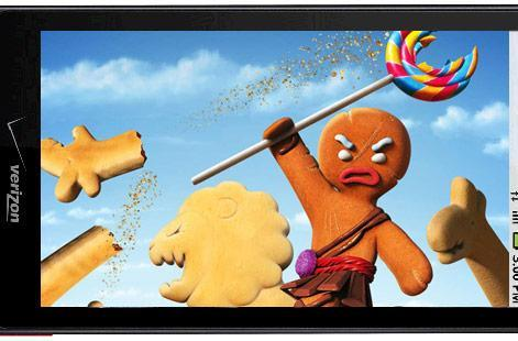 OTA Gingerbread 2.3 update now available for Droid X