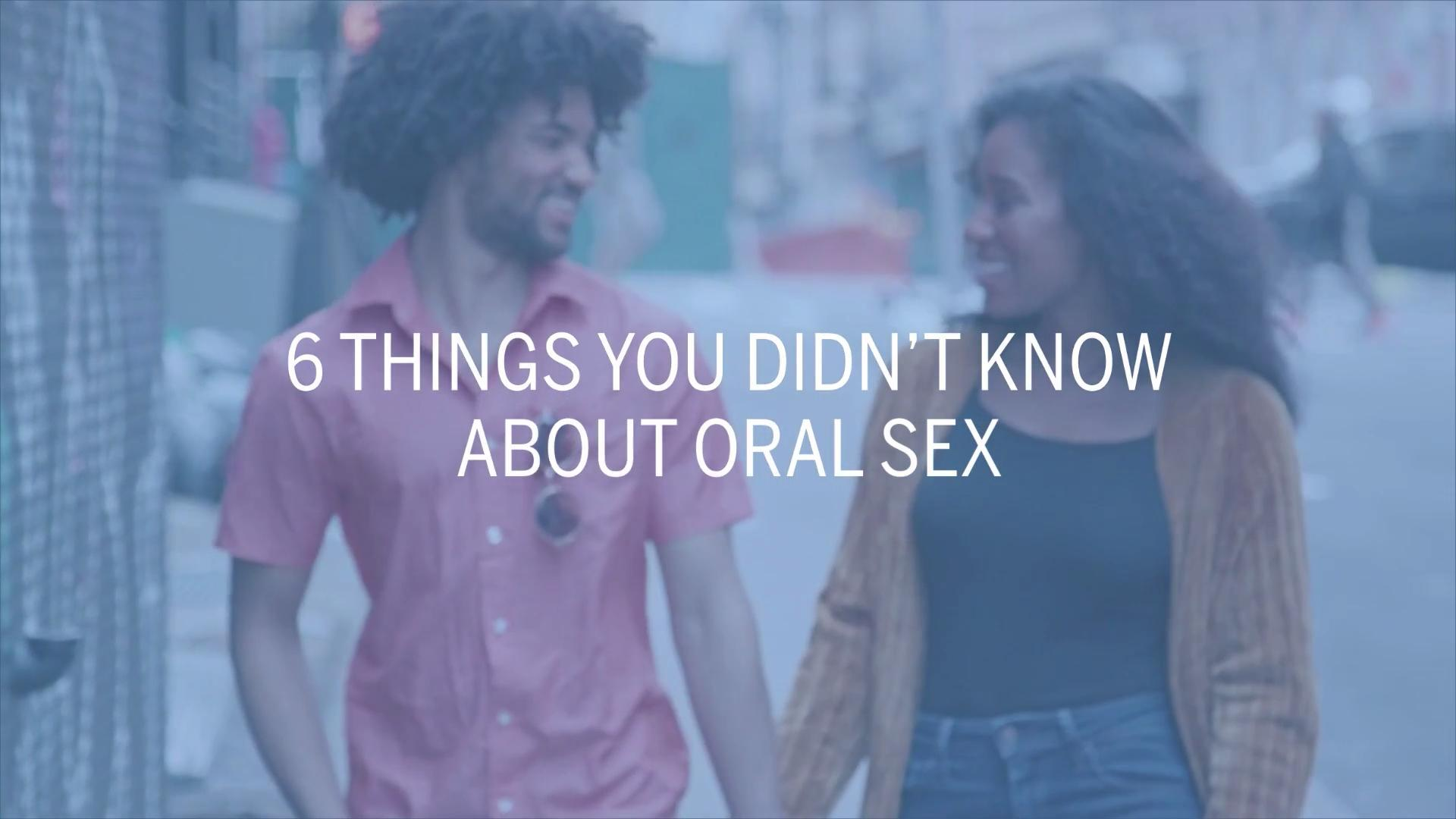 Oral Sex Demonstration 14 things every woman needs to know about oral sex