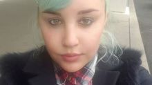 Amanda Bynes debuts apparent new face tattoo on Instagram