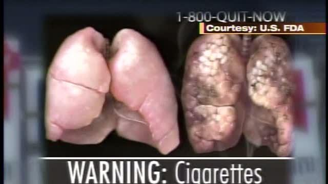 Smokers react to new, graphic warning labels required by FDA