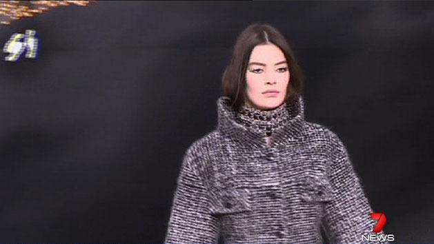 Lagerfeld wows with new Chanel collection