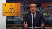 'Last Week Tonight With John Oliver' reveals terrifying nuclear waste problem in the U.S.