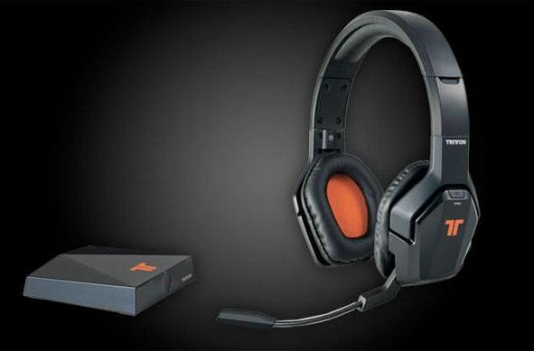 Mad Catz / Tritton ship 5.8 Ghz wireless headset for Xbox 360, dub it Primer