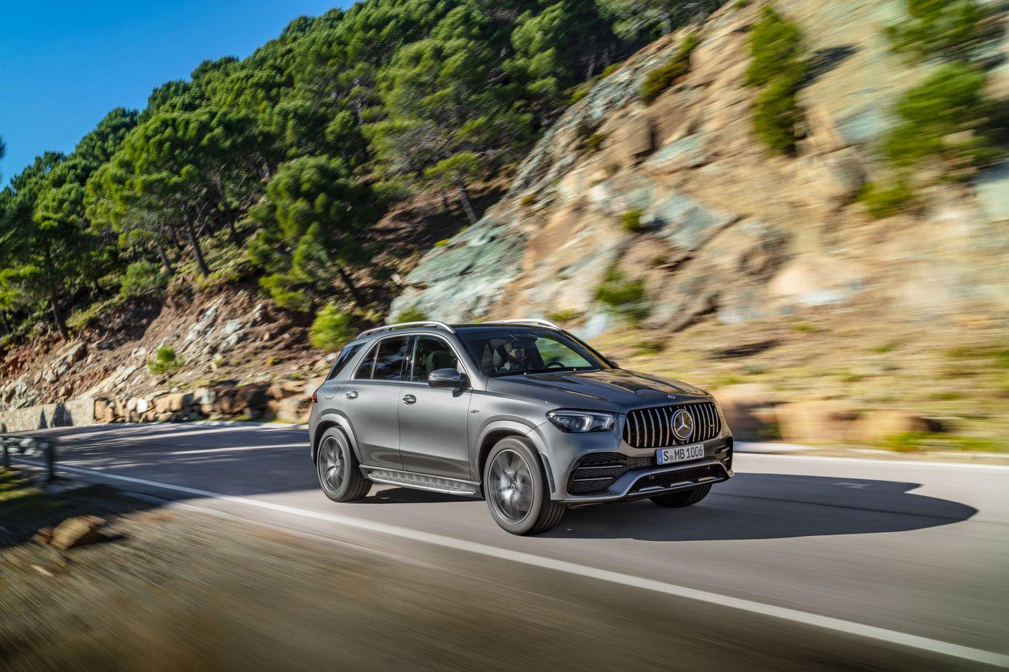 "<p>Like <a href=""https://www.caranddriver.com/mercedes-benz/gle-class"" rel=""nofollow noopener"" target=""_blank"" data-ylk=""slk:the GLE450"" class=""link rapid-noclick-resp"">the GLE450</a>, the GLE53 is a hybrid with a 48-volt electrical system powerful enough to run an electric supercharger, all vehicle accessories (there is no engine belt drive), and instantly change the height, spring, and damping settings on each wheel through an insanely complicated setup known as E-Active Body Control. </p>"