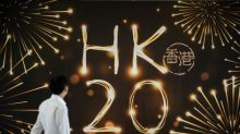 Hong Kong pulls out stops to mark 20 years of Chinese rule