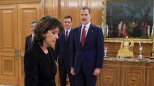 El polémico nombramiento de Delgado como fiscal general se consuma tras prometer ante el rey