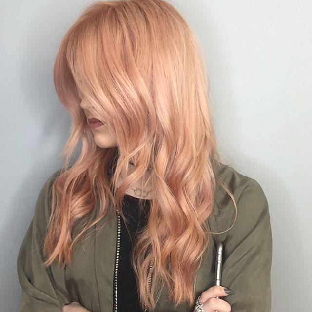 Rose Gold Hair Is Instagrams New Favorite Beauty Trend