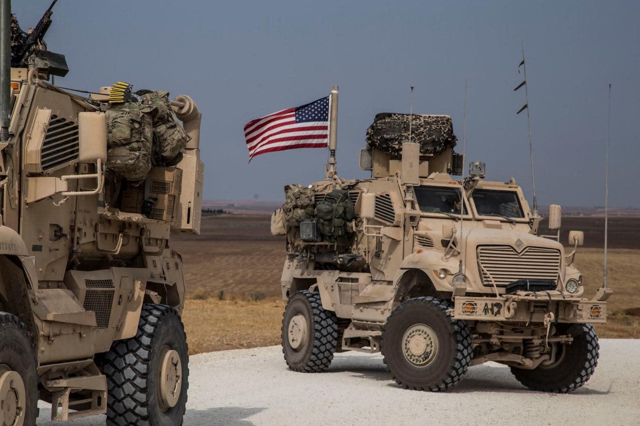 US Patrol Under Attack in Syria Returns Fire
