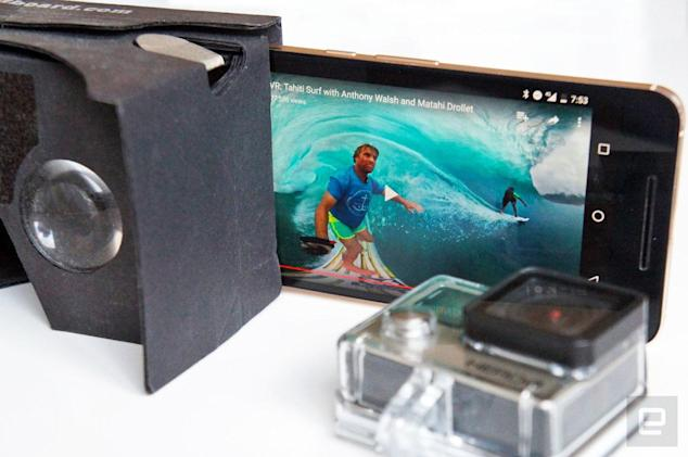 GoPro announces VR video app and livestreaming tools